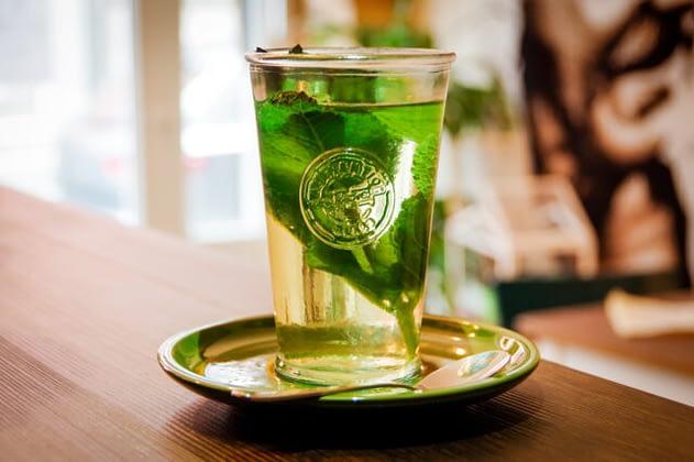 Frischer Minz-Tee