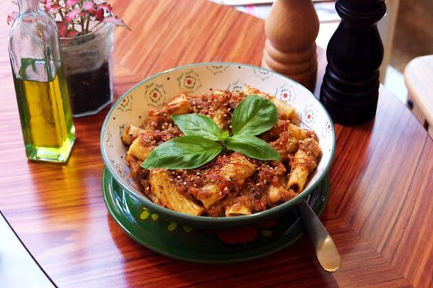 Pasta – Aubergine Pesto
