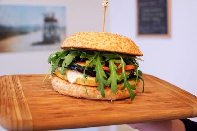 Mediterraner Burger